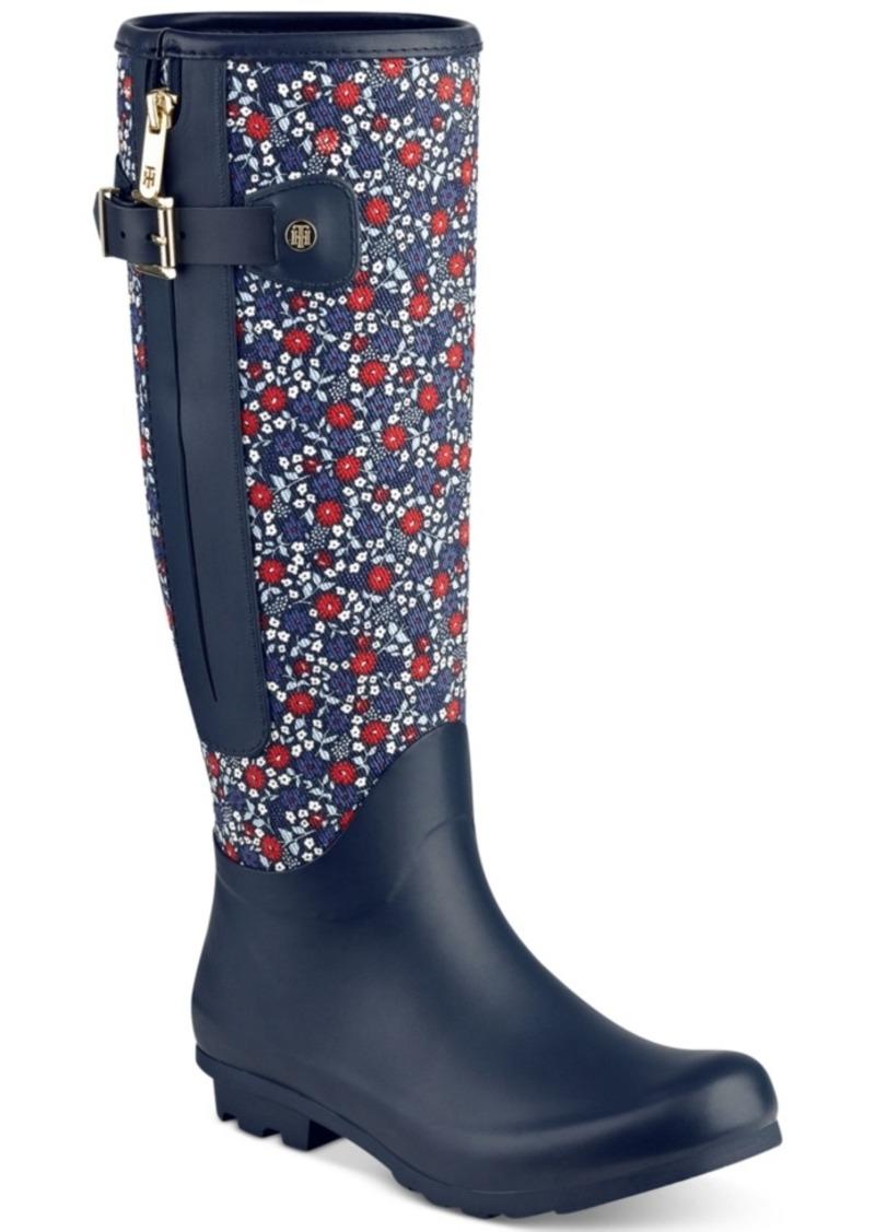 f4310101078 Tommy Hilfiger Tommy Hilfiger Mela Rain Boots Women s Shoes