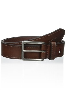 Tommy Hilfiger Men's  1 3/8 in. Vegatable Leather Belt