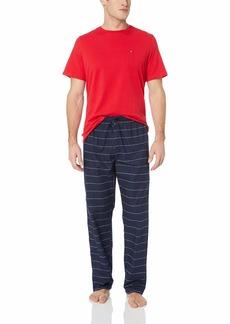Tommy Hilfiger Men's 100% Cotton Poplin Pajama Set  XL