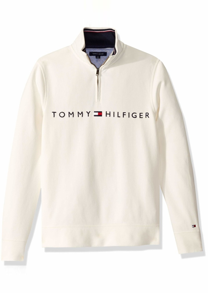 Tommy Hilfiger Men's 1/4 Zip Pullover Sweater  XS