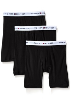 Tommy Hilfiger Men's 3-Pack Cotton Boxer Brief(36-38)