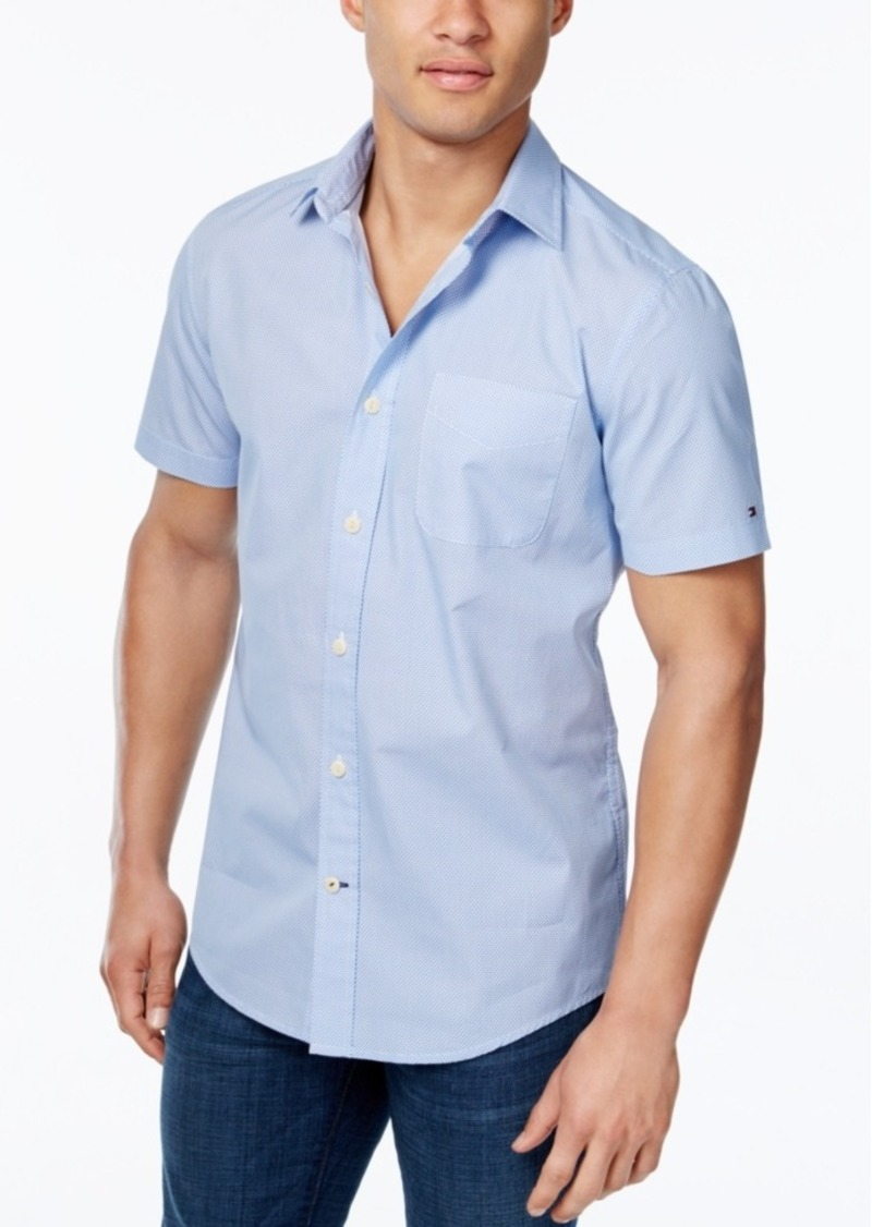 Tommy Hilfiger Men's Abia Print Short-Sleeve Shirt