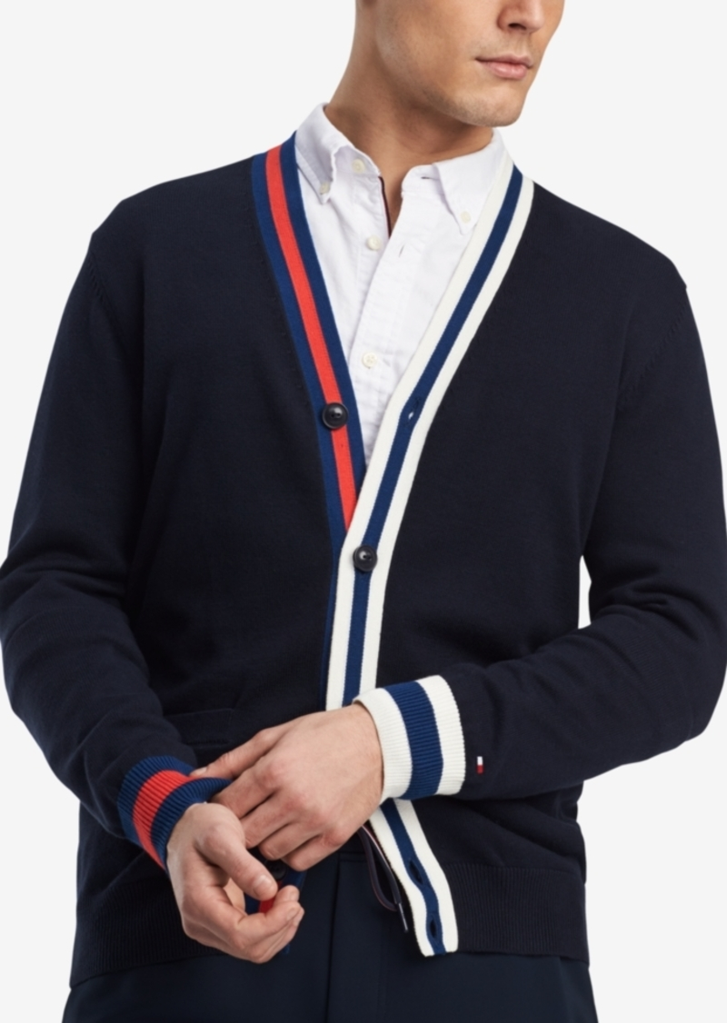 a01e27b469 Tommy Hilfiger Tommy Hilfiger Men s Adam Colorblocked Cardigan ...