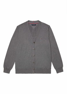 Tommy Hilfiger Men's Adaptive Cardigan Sweater with Magnetic Buttons  SM