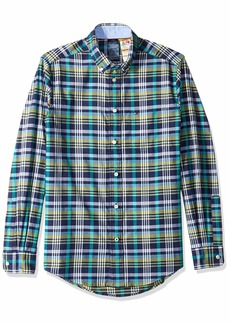 Tommy Hilfiger Men's Adaptive Magnetic Button Shirt Regular Fit