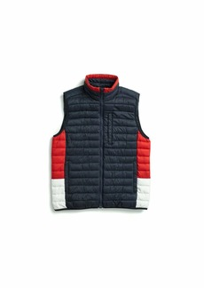 Tommy Hilfiger Men's Adaptive Quilted Vest with Magnetic Zipper