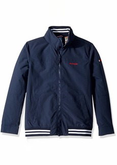 Tommy Hilfiger Men's Adaptive Regatta Jacket with Magnetic Zipper