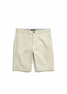 Tommy Hilfiger Men's Adaptive Short with Velcro Brand Closure and Magnetic Fly SAND KHAKI