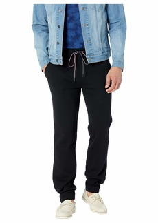 Tommy Hilfiger Men's Adaptive Sweatpants with Velcro Outside Seams The The Deep black