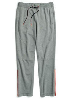 Tommy Hilfiger Men's Adaptive Sweatpants with Zipper Outside Seams as is as is Grey LG
