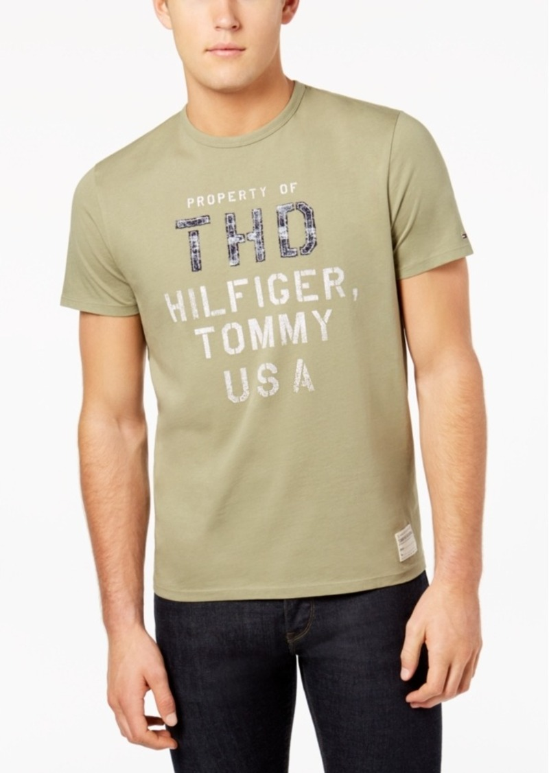 9e62f77bd On Sale today! Tommy Hilfiger Tommy Hilfiger Men s Agent Logo-Print ...