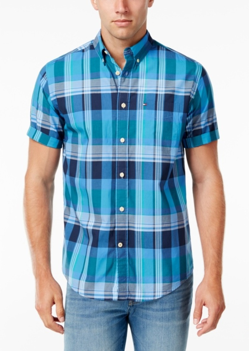 Tommy Hilfiger Men's Aldis Plaid Shirt