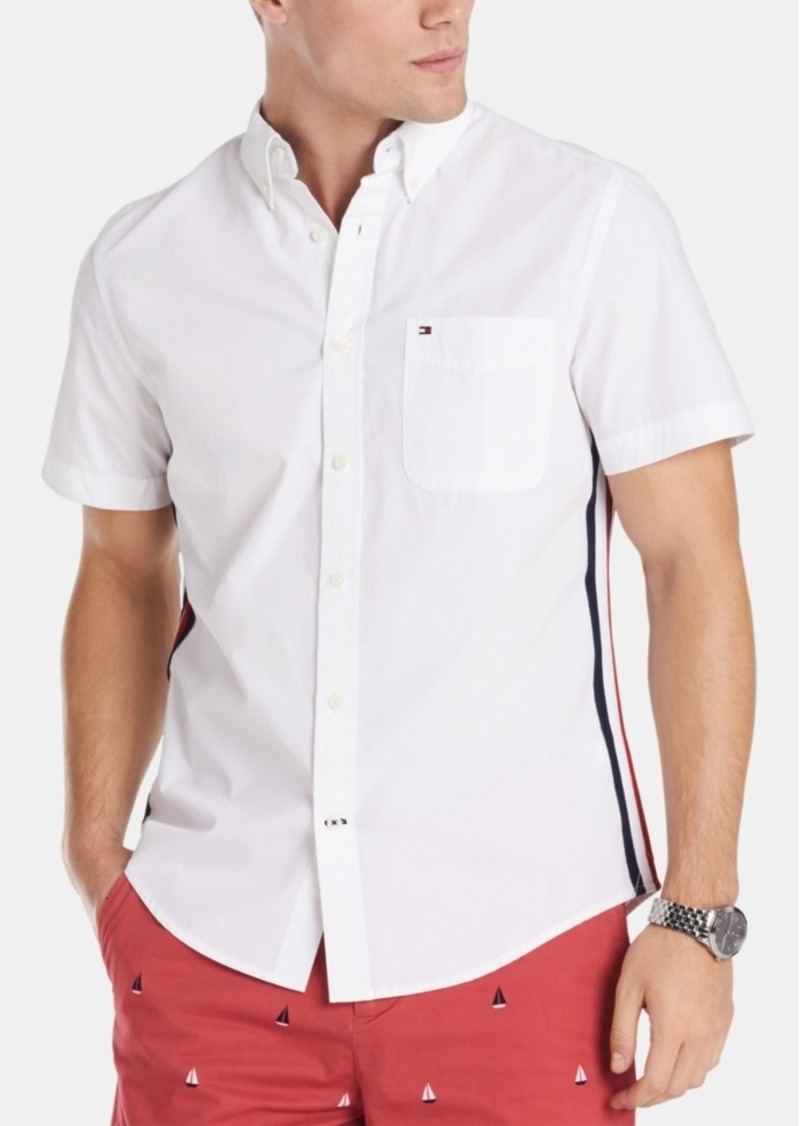 Tommy Hilfiger Men's Aldridge Stretch Oxford Shirt