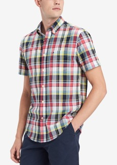 Tommy Hilfiger Men's Alex Plaid Shirt, Created for Macy's