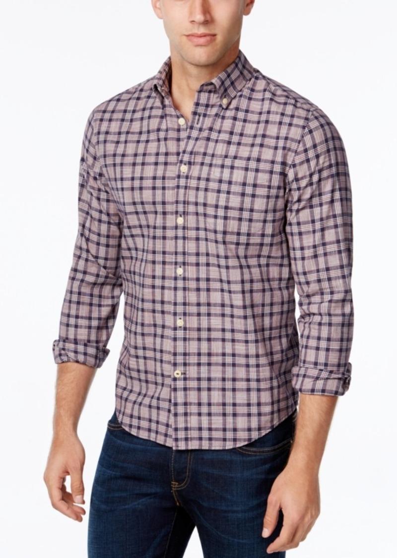 Tommy Hilfiger Men's Almeda Plaid Slub Long-Sleeve Shirt