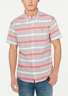 Tommy Hilfiger Men's Archie Stripe Shirt, Created for Macy's
