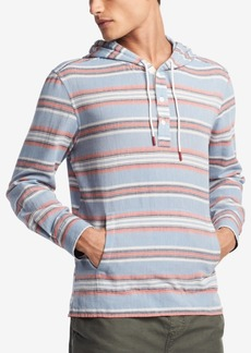 Tommy Hilfiger Men's Arkin Striped Hooded Shirt, Created for Macy's
