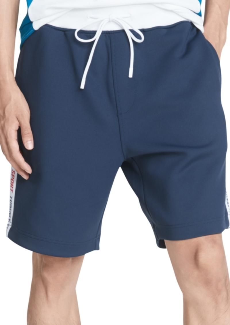 Tommy Hilfiger Men's Arnold Logo Taped Shorts