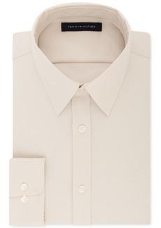 e37845a95b40a Tommy Hilfiger Men s Athletic Fit Performance Stretch Th Flex Collar Dress  Shirt