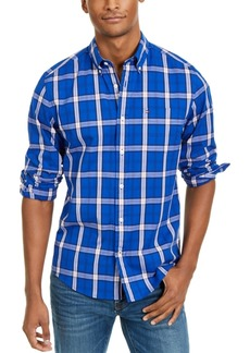 Tommy Hilfiger Men's Ballard Stretch Plaid Shirt