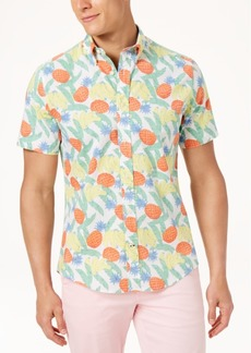 Tommy Hilfiger Men's Big & Tall Banana Tropic Shirt