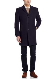 Tommy Hilfiger Men's Barnes 38 Inch Single Breasted Cashmere Blend Coat   Regular