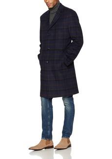 Tommy Hilfiger Men's Barnes Single Breasted Walker Coat  R