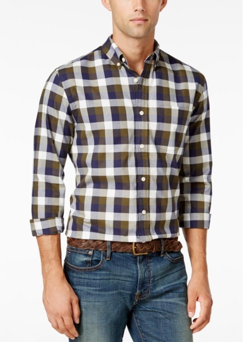 Tommy Hilfiger Men's Beau Plaid Long-Sleeve Shirt