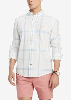 Tommy Hilfiger Men's Ben Plaid Classic Fit Shirt, Created for Macy's