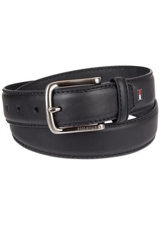Tommy Hilfiger Men's Big & Tall Casual Leather Belt
