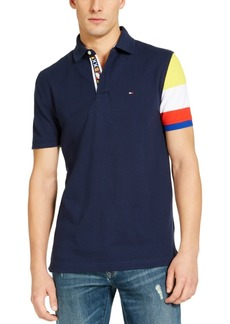 Tommy Hilfiger Men's Big & Tall Chance Custom-Fit Colorblocked Polo Shirt