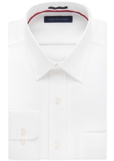 Tommy Hilfiger Men's Big & Tall Classic-Fit Non-Iron Solid Dress Shirt
