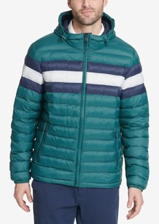 07a8041e Tommy Hilfiger Men's Big & Tall Colorblocked Hooded Ski Coat, Created for  Macy's