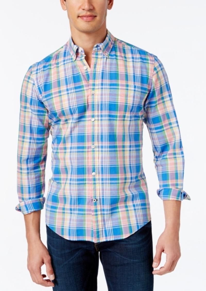 Tommy Hilfiger Men's Big & Tall Noland Plaid Shirt