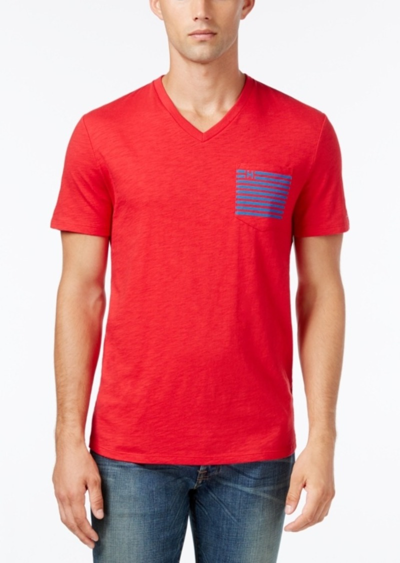 Tommy hilfiger tommy hilfiger men 39 s big tall social for Tall v neck t shirts
