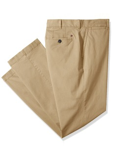 Tommy Hilfiger Men's Big and Tall Classic Fit Stretch Chino Pants  36X36