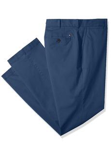 Tommy Hilfiger Men's Big and Tall Classic Fit Stretch Chino Pants BAYHEAD Blue 46X30