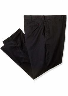 Tommy Hilfiger Men's Big and Tall Classic Fit Stretch Chino Pants cs deep Knit Blue 56X32