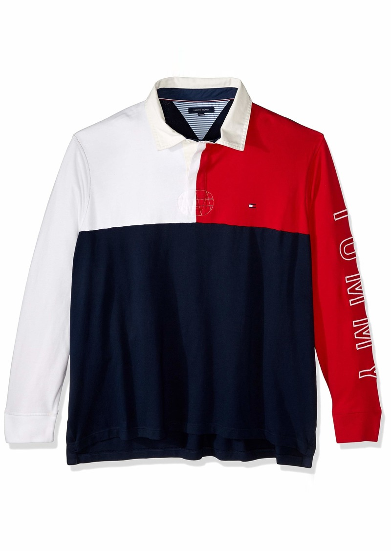 Tommy Hilfiger Men's Size Big and Tall Colin Rugby Shirt  2X-Large