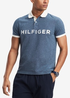 Tommy Hilfiger Men's Big and Tall Kieran Logo Classic Fit Polo