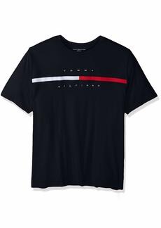 Tommy Hilfiger Men's Big and Tall Logo T Shirt  4XL