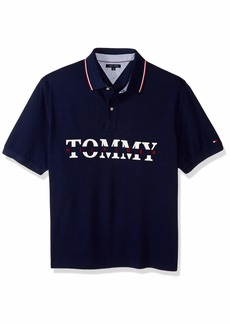 Tommy Hilfiger Men's Big and Tall Polo Shirt Custom Fit  3XL