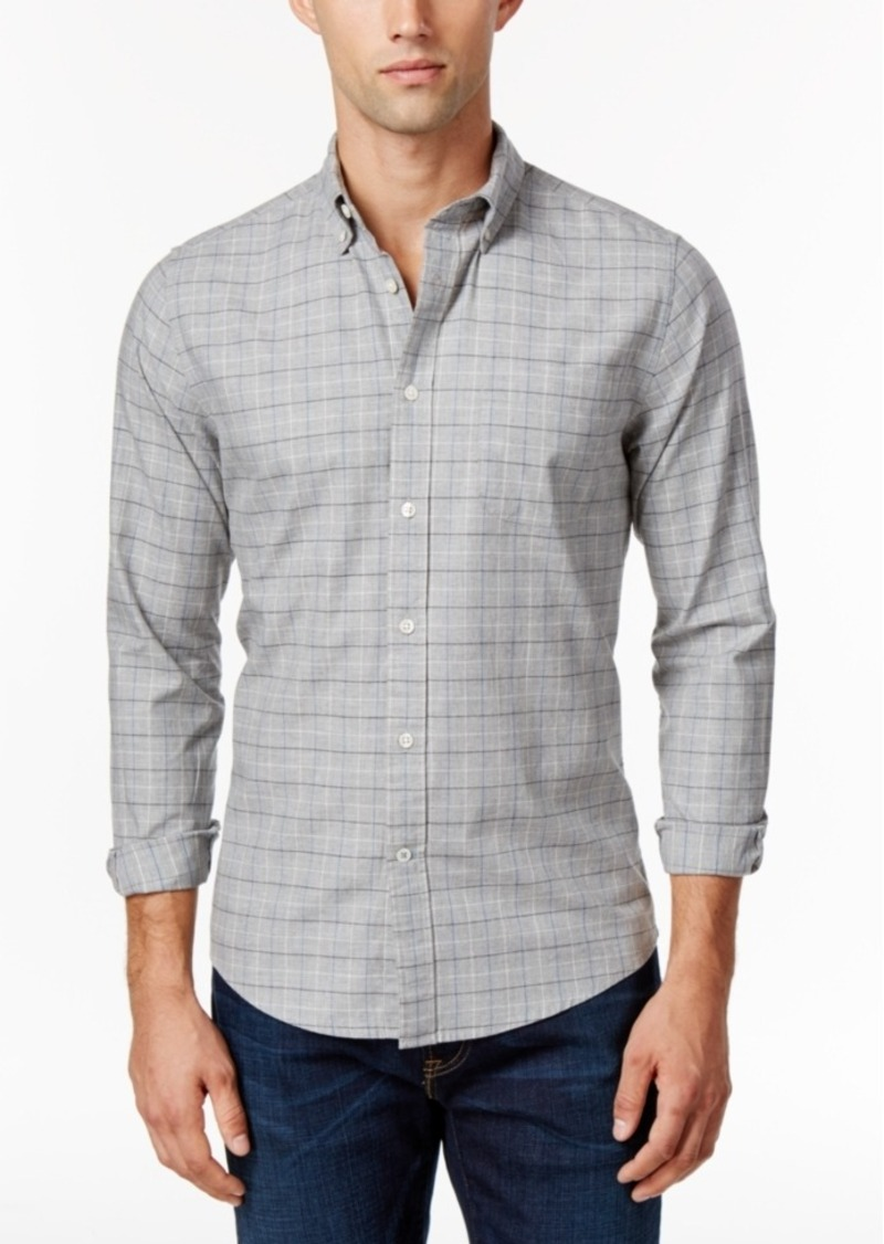 Tommy Hilfiger Men's Blaine Tattersall Check Shirt