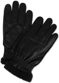 Tommy Hilfiger Men's Boulder Leather Touch-Screen Gloves