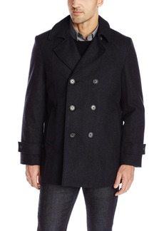 Tommy Hilfiger Men's Brady 33 Inch Double Breasted Peacoat