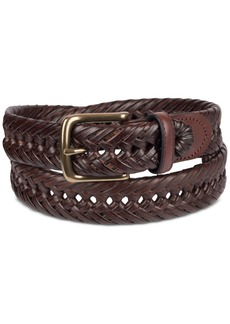Tommy Hilfiger Men's Braided Leather Belt