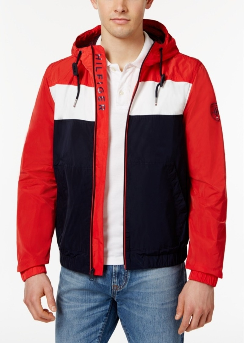 99792eaf Tommy Hilfiger Tommy Hilfiger Men's Brewer Windbreaker, Created for ...