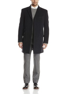 Tommy Hilfiger Men's Bryce 36 Inch Single Breasted Top Coat  /Regular