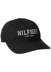 Tommy Hilfiger Men's Bucky Baseball Dad Cap