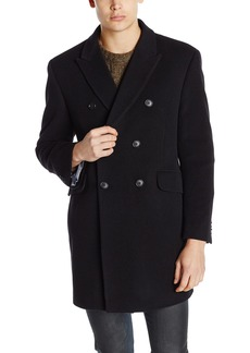 Tommy Hilfiger Men's Burbank Double Breasted Walker Coat   Regular
